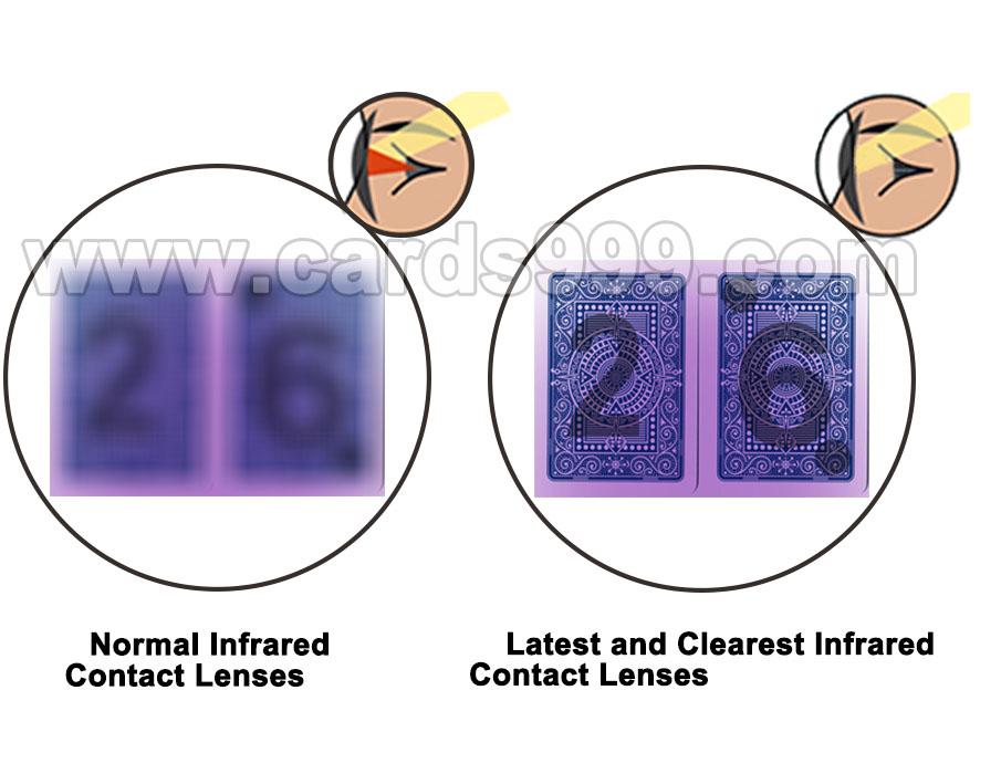 Инфракрасные контактные линзы
